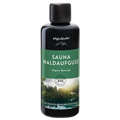 AllgäuQuelle Saunaaufguss mit 100%...