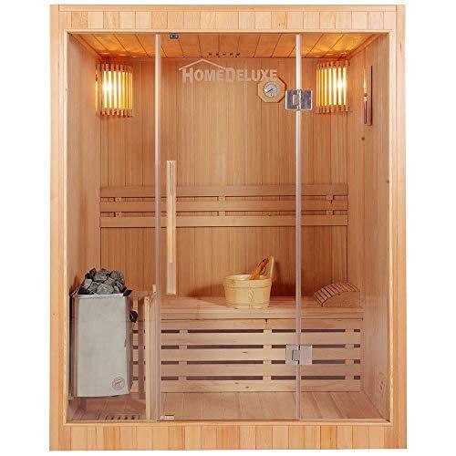 Home Deluxe - Traditionelle Sauna -...