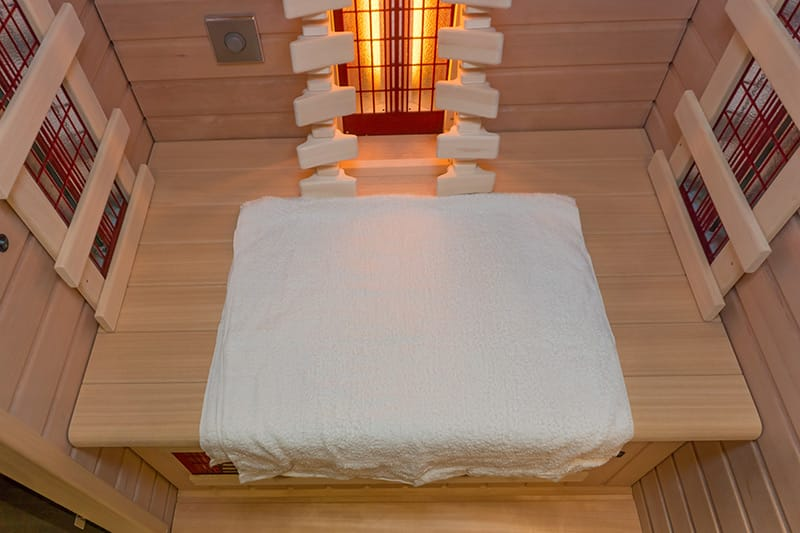 Die mobile Wärmekabine - perfekt auch für die kleine Wohnung